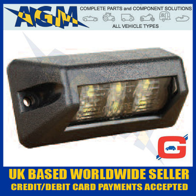 Guardian PE511 Perei LED Number Plate Lamp 24v