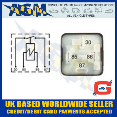 Guardian GR17 Mini Heavy Duty Make/Break 12v Relay