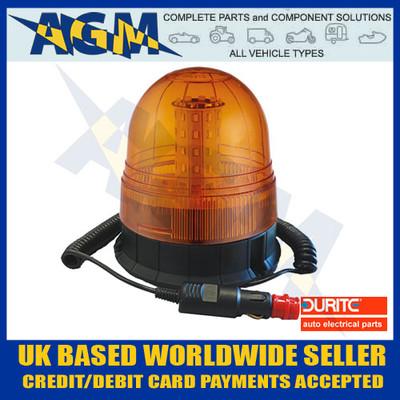 Durite 0-445-60 Multi-Function Amber Magnetic LED Beacon - 12/24v