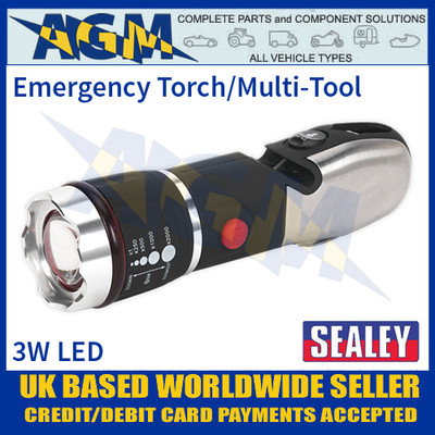 Sealey LED072 Emergency Torch/Multi-Tool
