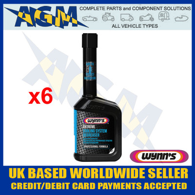 Wynns Professional 25541 Extreme Cooling System Degreaser - 325ml Bottle (Pack of 6)
