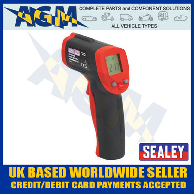 Sealey VS900 Infra Red Laser Digital Thermometer - Hand Held Wireless