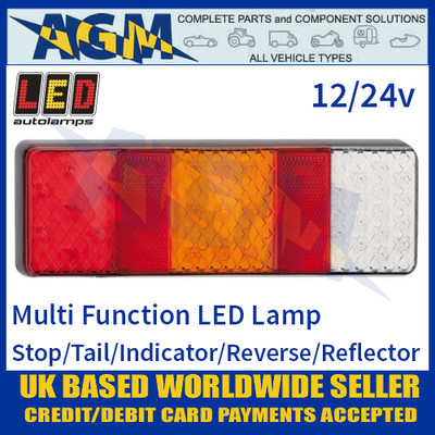 LED Autolamps 250WARM LED Rear Multi Function Lamp 12/24v