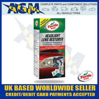 Turtle Wax GL 51768 Headlight Lens Restorer