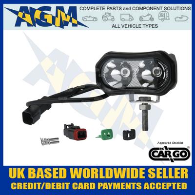 Cargo 172054 Red LED Spot Light/Lamp - Forklift Safety Lamp etc