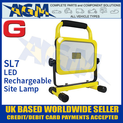 Guardian Automotive SL7 LED Rechargeable Site Work Lamp, 1600 Lumens