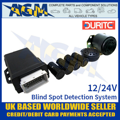 0-870-10 Durite 12/24V Ultrasonic Blind Spot Detection System