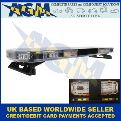 Guardian Automotive Spartan AMB119 Stop/Tail/Indicator  LED Low Profile Beacon Bar