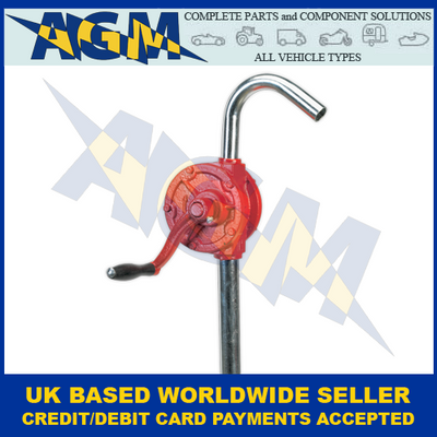 Sealey TP54 Rotary Oil Drum Pump