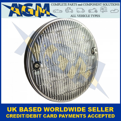 LED Autolamps HB140WM Slimline Hamburger Reverse Lamp 12-24 Volt