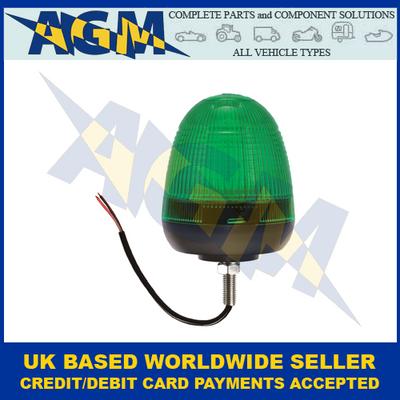 Guardian AMB74G, LED Green Beacon Single Bolt Fixing 12/24v