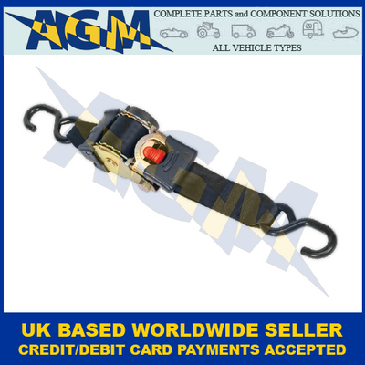 Sealey ATD50301 Auto Retractable Tie Down Ratchet 50mm x 3mtr