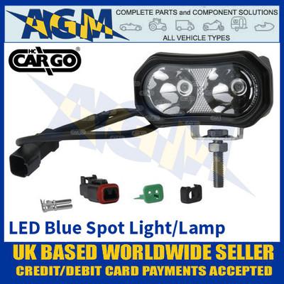 HC Cargo 172053 Forklift LED Blue Spot Safety Light/Lamp - Multivoltage