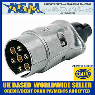 HELLA 8JA001918-002 7 Pin Metal Alloy 12N Plug