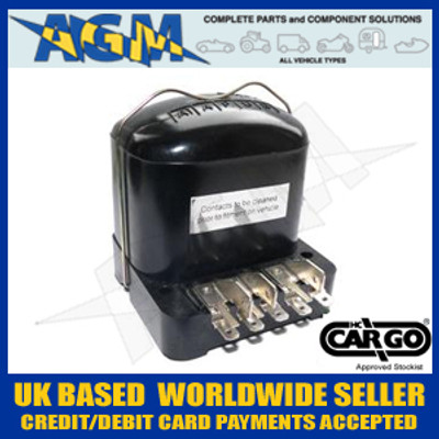 Cargo 130052,12v Control/Regulator Box - RB106/NCB101 LUCAS Blade Type Connections