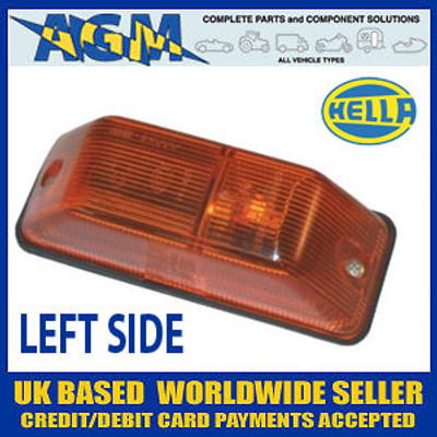 HELLA Side Repeater Flasher Lamp, LEFT fits Mercedes Sprinter etc