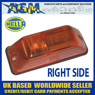 HELLA Side Repeater Flasher Lamp, RIGHT fits Mercedes Sprinter etc