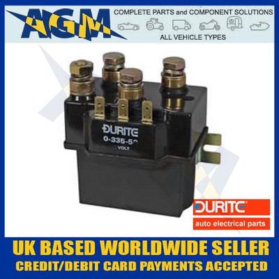 Durite 0-335-59 Chassis/Bulk Head Mountable Heavy Duty Change Over/Reversing 24v Solenoid