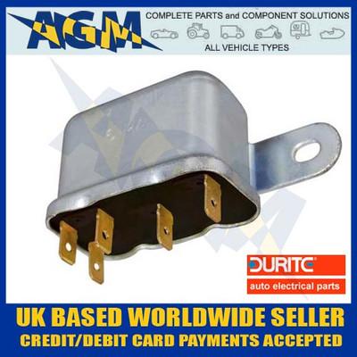 Durite 0-727-20 Relay, 12 Volt 30 Amp, 6RA Type Make or Break Relay