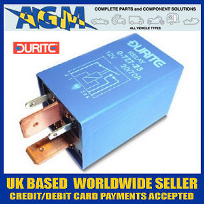 Durite 0-727-23 Relay, 12 Volt 70 Amp - 20 Amp Split Charge Relay SRB630