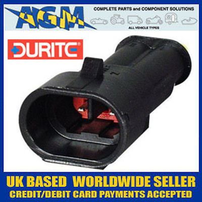 DURITE 0-011-52 Superseal Connector 1.50mm Two Terminal