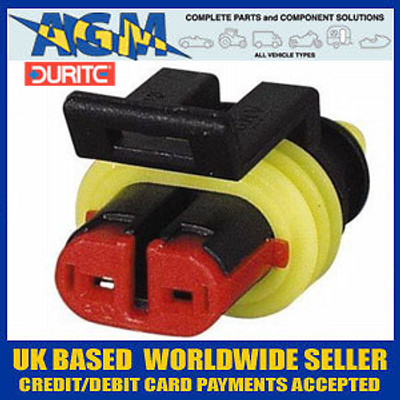 DURITE 0-011-62 Superseal Connector 1.50mm Two Terminal