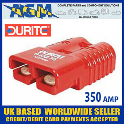 Guardian PC3RR/Durite 0-432-35 Red High Current Anderson Connector 350 Amp