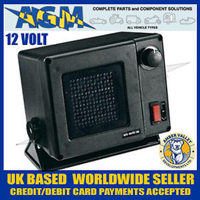 Amber Valley AVFN 10/12, 12 volt, 300W Ceramic Fan Heater