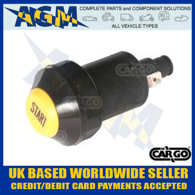 Cargo 181252 Push Button Switch - 12v/24v