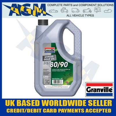 Granville 0173 EP80/90 Hypoid EPEX Multi Grade Gearbox Oil 5 Ltr