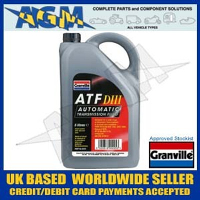 Granville 0225 ATF Dexron III Automatic Transmission Fluid 5 Ltr