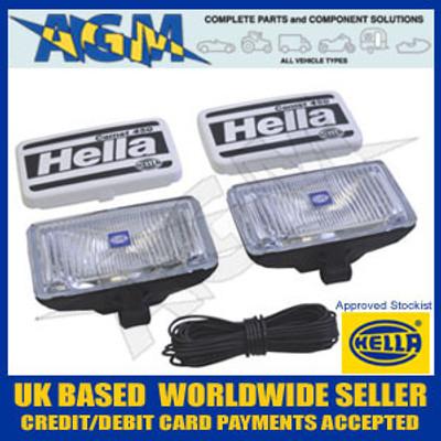 Hella 1NB 005 860-601 Comet 450 x2 Fog Lamps Set 12/24V