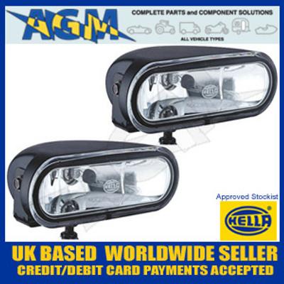 HELLA FF75 12v Magnesium Spot/Driving Light Set (CLEAR) 1FA 008 284-811
