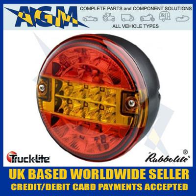 TRUCK-LITE 810/51/00 LED Hamburger Style Indicator, Stop, Tail Lamp 12v/24v