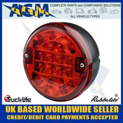 TRUCK-LITE 810/53/00 LED Hamburger Style Fog Hazard Lamp 12v/24v