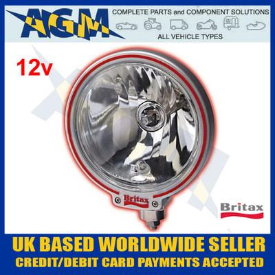 Britax L09.00.12v Classic Round Clear Glass Driving/Spot Lamps
