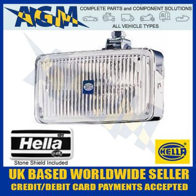 HELLA Classic 12/24v 181 Rectangular Chrome Body Fog Lamp 1ND 003 590-401