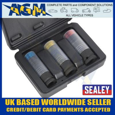 SEALEY Tools - SX039 Alloy Wheel Stud/Bolt Removal Sockets