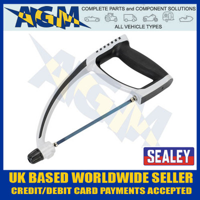 SEALEY Professional AK8683 Mini/Junior Hacksaw With Adjustable Blade 150mm