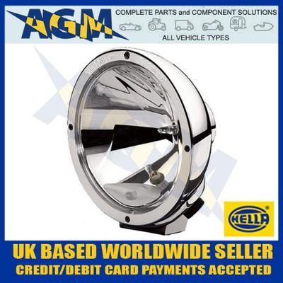 Hella 1F8 007 560-311 Chrome Luminator Clear Driving Lamp inc Daytime Running Light 12/24V