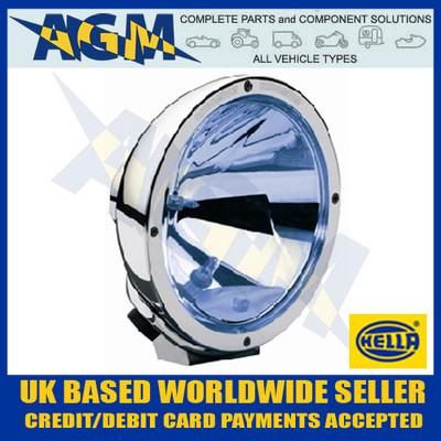 Hella 1F8 007 560-321 Chrome Luminator Blue Tint Driving Lamp inc. Daytime Running Light 12/24V