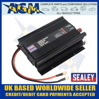 Sealey PI1000 1000w Power Inverter 12v Dc - 230v 50hz