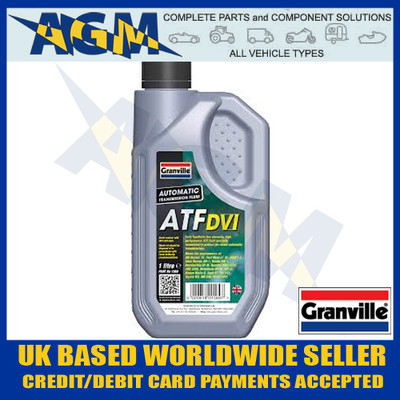 Granville 1569 ATF Dexron VI 4 Automatic Transmission Fluid Oil 1 Ltr