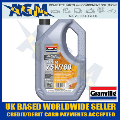 Granville 1717 EP 75w/80 Hypoid Gear Oil 5 Ltr