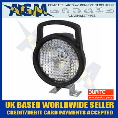 DURITE 0-538-00 Halogen Work Lamp/Search Lamp 12/24V With Integral Switch