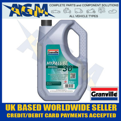 Granville 1802 Original 30 Motor Oil 5 Ltr- Ideal for Vintage Classic Cars and Bikes