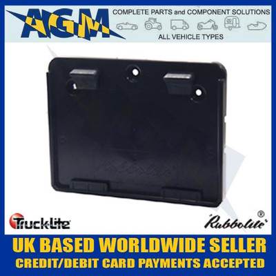 genuine, trucklite, 645/01/00, square, trailer, number, plate, holder
