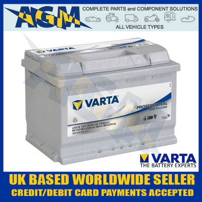 VARTA LFD75 930 075 065 12v 80A Deep Cyle Leisure Battery