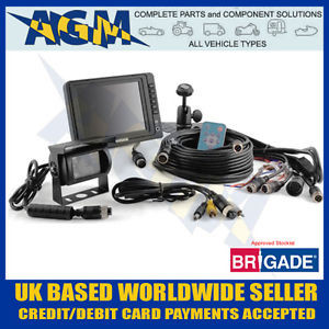 BRIGADE 5 Inch Colour TFT CCTV Safety Reversing Camera System with