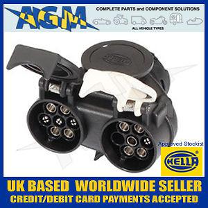 hella towing socket adapter 13 pin to 2 x 7 pin, 12n and 12s, Wiring diagram